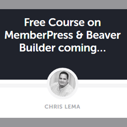 Beaver Builder course by Chris Lema