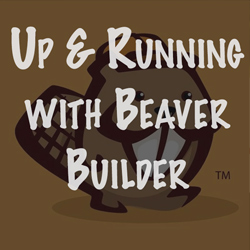 Up and running with Beaver Builder plugin