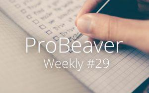 ProBeaver Weekly 29