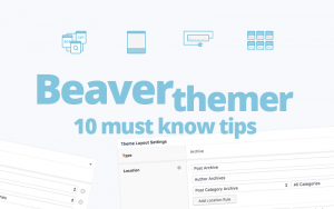Beaver Themer addon tips