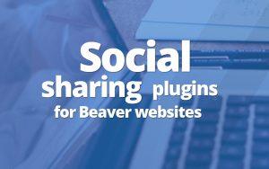 Social Sharing plugins for Beaver websites