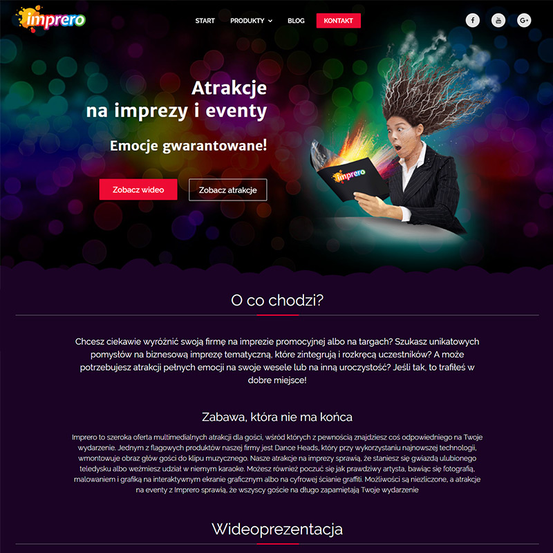 Impero Website
