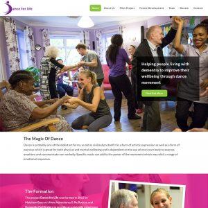 Dance for Life Website