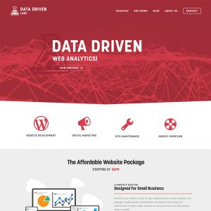 datadrivenlabs website