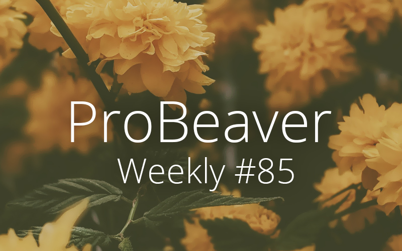 ProBeaver Weekly 85